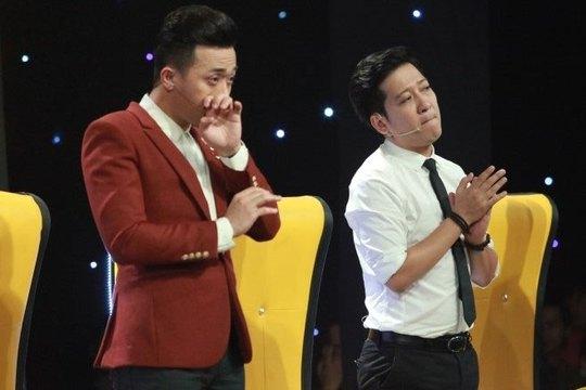 """Trường Giang và Trấn Thành bội thu đề cử Giải Mai Vàng lần này. (Ảnh do chương trình """"Thách thức danh hài"""" cung cấp)"""