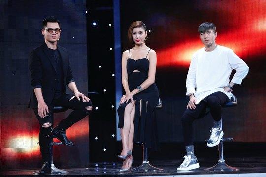 """Các thành viên giám khảo của """"Nâng tầm đẳng cấp – Biệt đội phong cách"""": Nam Trung, Thúy Vân, Lê Minh Ngọc Ảnh: ÂN NGUYỄN"""