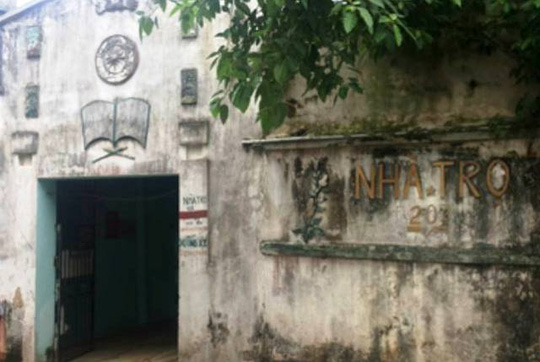 Nhà trọ nơi ông Trịnh Quang Hạnh bị bắt quả tang đang quan hệ bất chính với phụ nữ