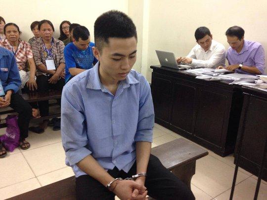 Bị cáo Vũ Văn Bình tại phiên toà - Ảnh: Tuyết Nhung