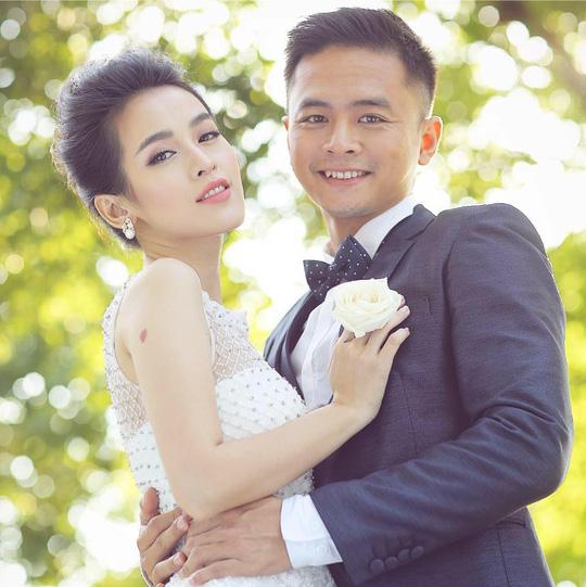Vợ chồng Tú Vi - Vân Anh