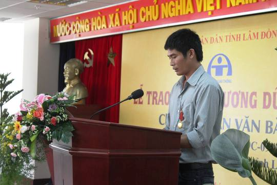 Tài xế Bắc là tấm gương sáng, là niềm tự hảo của tỉnh Lâm Đồng.
