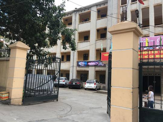 Ký túc xá trường ĐH Giao thông Vận tải Hà Nội, nơi xảy ra vụ xô xát giữa nữ sinh viên và bạn trai cũ-Ảnh: Định Nguyễn