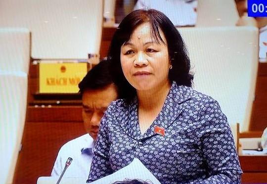 Đại biểu QH Nguyễn Thị Mai Hoa: 45% trường hợp trẻ phạm tội có hoàn cảnh bố mẹ chỉ lo kiếm tiền - Ảnh chụp qua màn hình