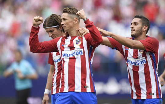 Torres sẽ được ra sân trong đội hình xuất phát trận Atletico tiếp Bayern Munich