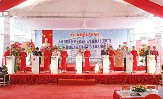 BV Bạch Mai được phê duyệt thiết kế sân đỗ trực thăng trên nóc tòa nhà