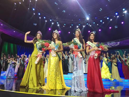 Tốp 4 của cuộc thi Hoa hậu Trái đất 2016