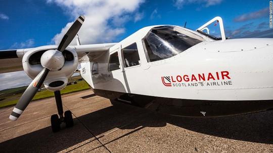 Vào ngày 1-11-2016, hãng hàng không này tuyên bố đạt mốc 1 triệu khách. Ảnh: Loganair
