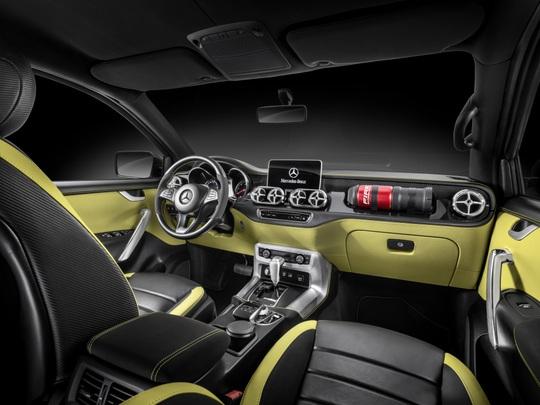 Mercecedes-Benz ra mắt xe bán tải X-Class