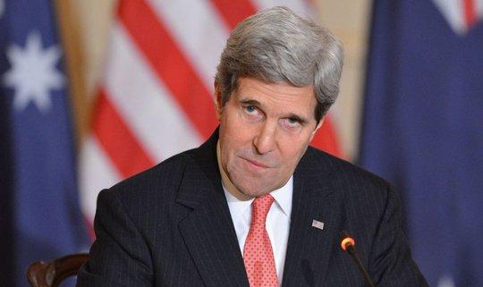 Ngoại trưởng Mỹ John Kerry. Ảnh: BỘ NGOẠI GIAO MỸ