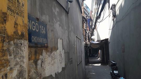 Khu vực nơi xảy ra vụ truy sát khiến 2 chị em tử vong - Ảnh: CTV