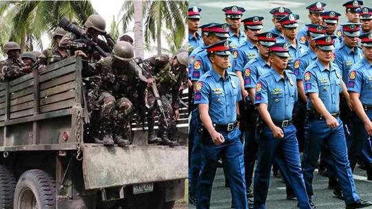 Quân đội và cảnh sát Philippines đều được tăng lương. Ảnh: INQUIRER