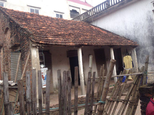 Ngôi nhà của nghi can Đ.V.H.