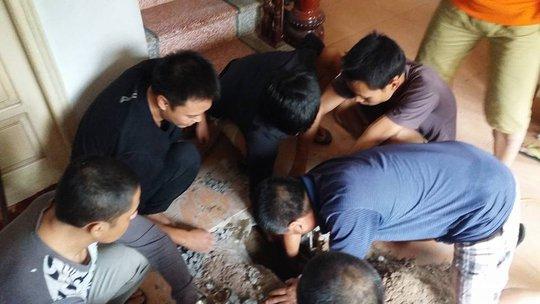 Vụ việc hi hữu khiến nhiều người dân hoang mang - Ảnh: CTV