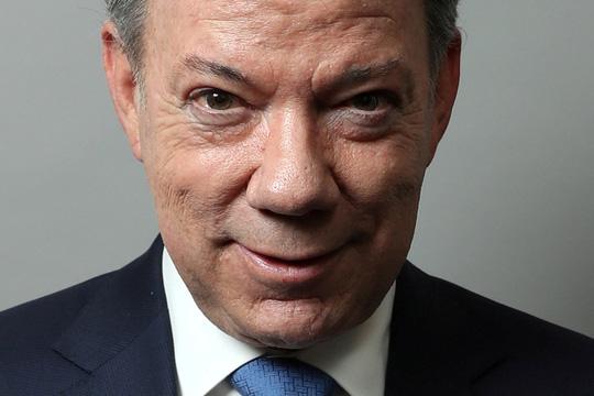 Tổng thống Colombia Juan Manuel Santos Ảnh: REUTERS
