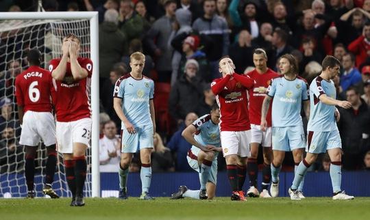 Nỗi thất vọng của các cầu thủ Man United