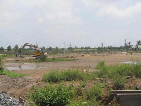 Nhiều vùng đất đầm lầy được các DN BĐS khai phá, góp phần gia tăng nguồn cung đất nền.