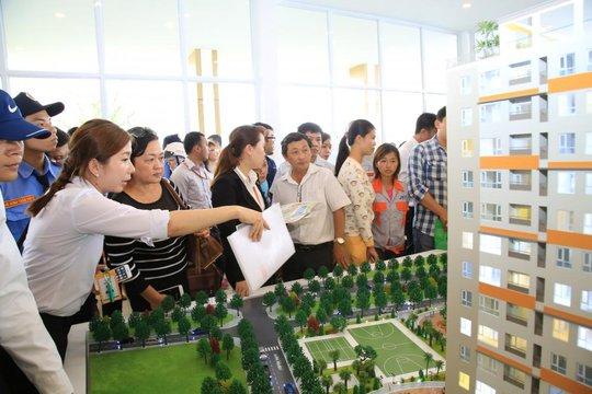Các căn hộ mở bán dịp cuối năm giá nhích nhẹ khoảng 1 – 3 triệu đồng/m2 so với thời điểm đầu năm. Ảnh: T.T