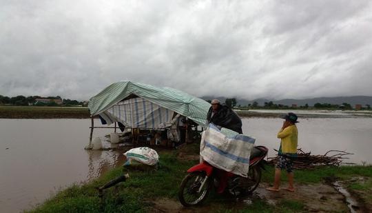 Vợ chồng ông Lê Văn Lệ di chuyển về nơi an toàn cuối cùng vì lo ngại mất tài sản