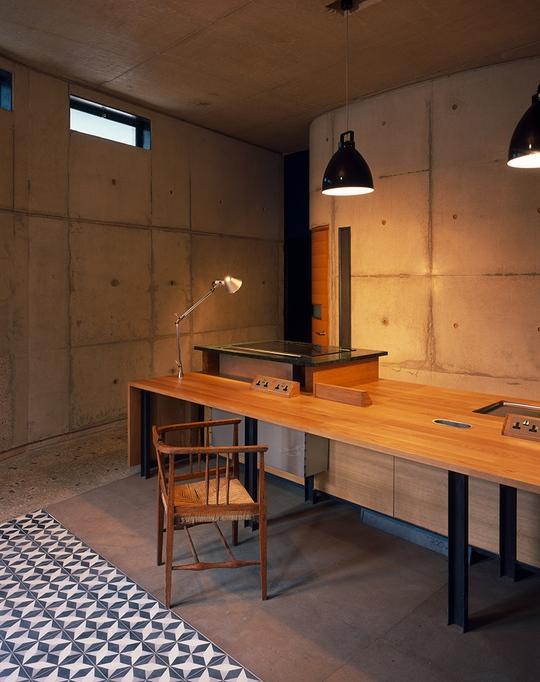 Nội thất được thiết kế đơn giản, tiện dụng