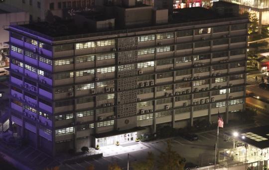 Đại sứ quán Mỹ ở thủ đô Seoul – Hàn Quốc. Ảnh: Yonhap