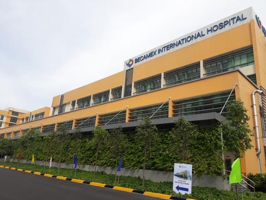 Quy mô toàn khu vực bệnh viện rộng gần 13 ha