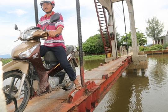 Khu vực ông Châu Ngọc Lực rơi xuống sông