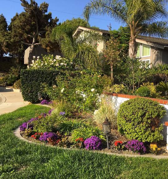 Ngắm ngôi nhà có khu vườn đầy sắc màu của MC Nguyễn Cao Kỳ Duyên