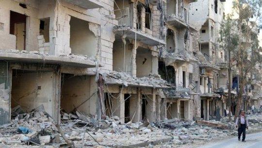 TP Aleppo. Ảnh: REUTERS