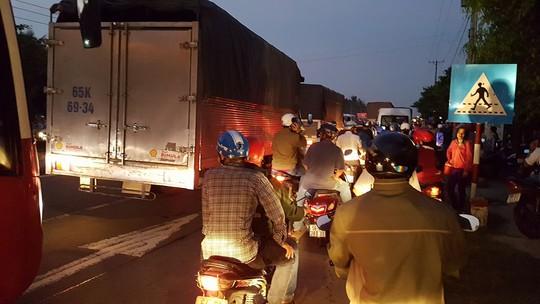 Vụ tai nạn gây ùn tắc giao thông nhiều giờ liền