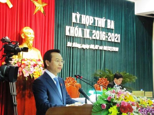 Bí thư Đà Nẵng Nguyễn Xuân Anh phát biểu khai mạc kỳ họp