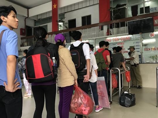 Một số tuyến từ TP HCM về Kiên Giang, Cần Thơ, nhu cầu hành khách mua vé cao