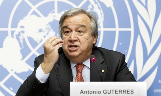 Ông Antonio Guterres. Ảnh: AP