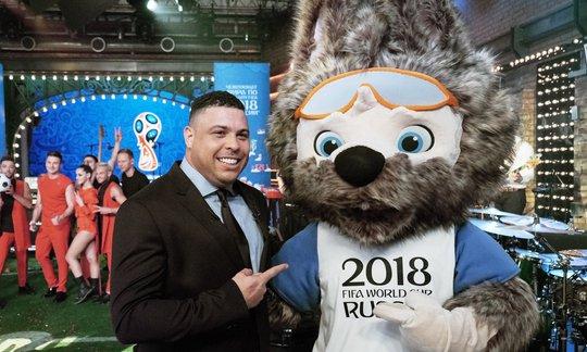 Chó sói được chọn làm linh vật World Cup 2018