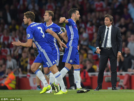 Chelsea sau trận thua Arsenal 0-3 ở vòng 5
