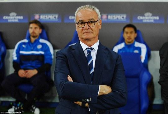 HLV Ranieri đang mãn nguyện với 2 trận toàn thắng của Leicester