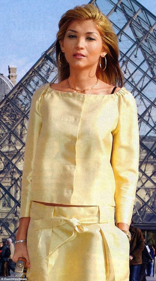 Cô Gulnara Karimova, con gái cố Tổng thống Uzbekistan Islam Karimov. Ảnh: East2West News