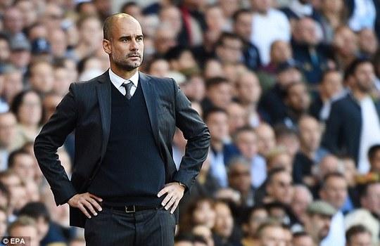 Pep Guardiola đánh giá cao Tottenham sau trận thua của Man City
