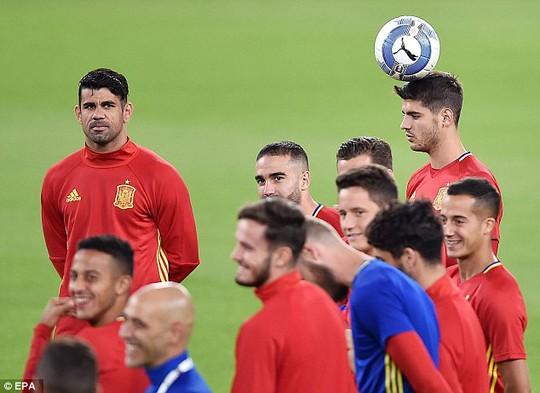 Nhiệm vụ ghi bàn được đặt lên đầu Morata