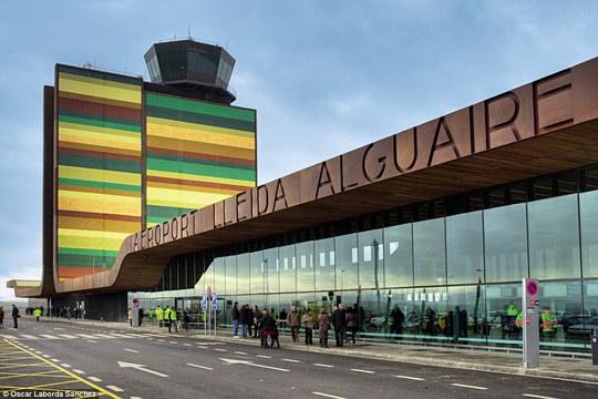 Sân bay Lleida-Alguaire tại Tây Ban Nha. Ảnh: Oscar Laborda Sanchez