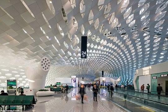 Sân bay Bảo An Thâm Quyến - Trung Quốc. Ảnh: Leonardo Finotti