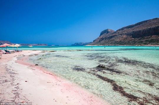 Biển Balos trên đảo Crete - Hy Lạp. Ảnh: Shutterstock
