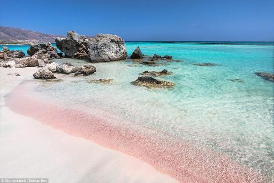 Bãi biển Elafonisi tại đảo Crete - Hy Lạp. Ảnh: Shutterstock