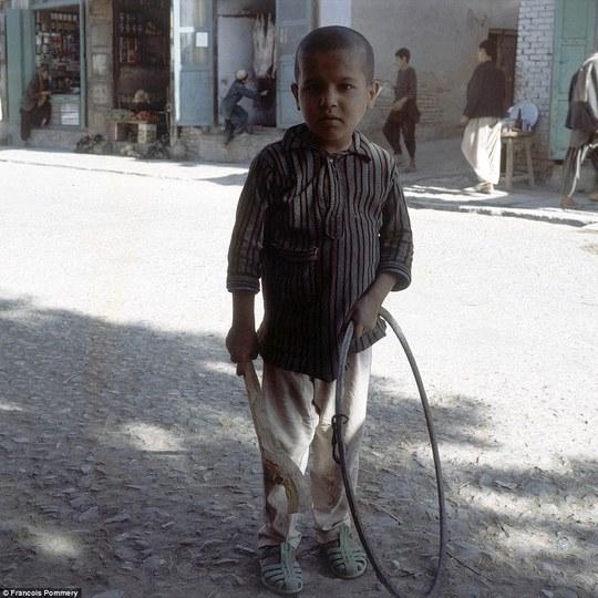 Khung cảnh yên bình ở TP Herat năm 1974. Ảnh: Francois Pommery