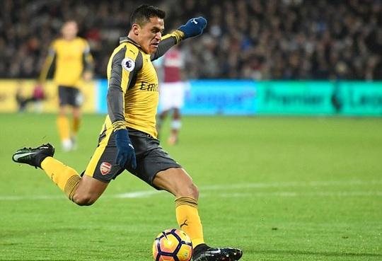 Sanchez, chân sút số 1 của Arsenal hiện nay