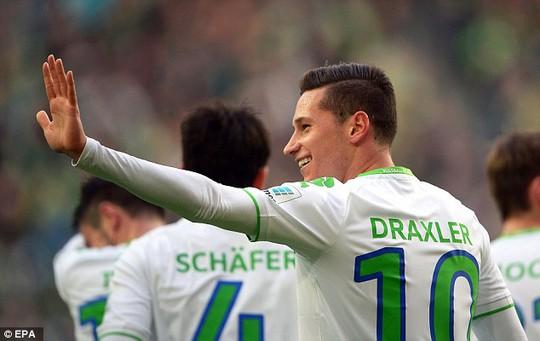 Draxler quyết định chọn PSG thay vì Arsenal