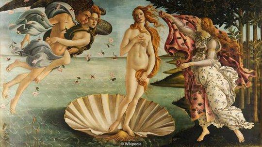Nữ thần Aphrodite. Ảnh: BBC