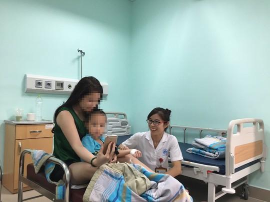 Một phòng dịch vụ tại Bệnh viện Nhi trung ương giá 1.350.000 đồng/ngày/giường