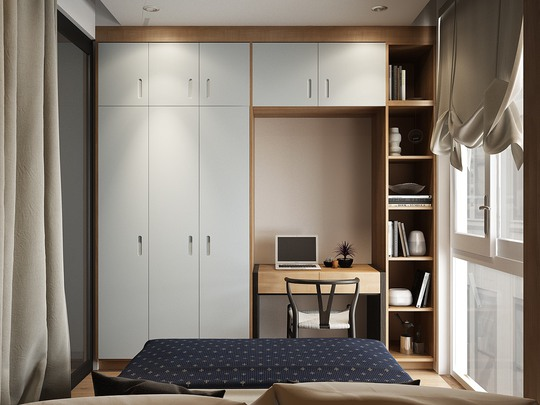3 mẫu phòng ngủ cao cấp bất chấp diện tích nhỏ