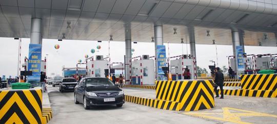 Trạm thu phí đường cao tốc Hải Phòng - Hà Nội Ảnh: THÁI NGUYÊN